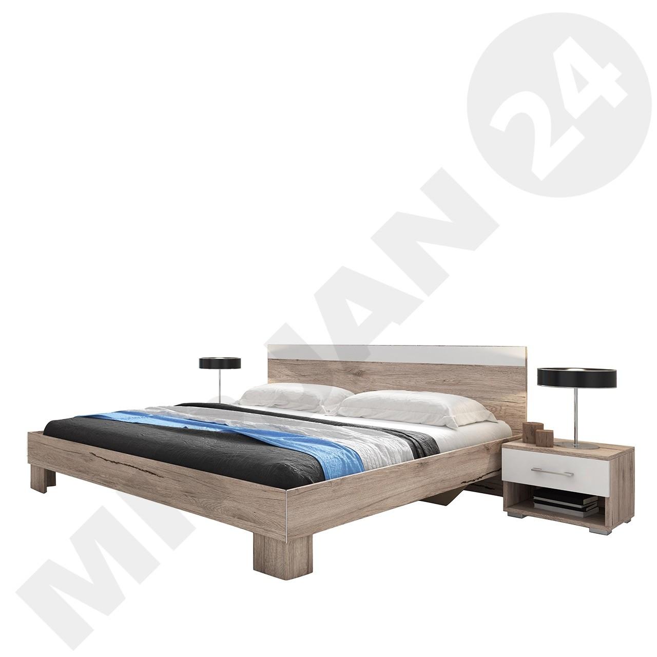 Maurice MA51/MA52 ágy + éjjeliszekrény