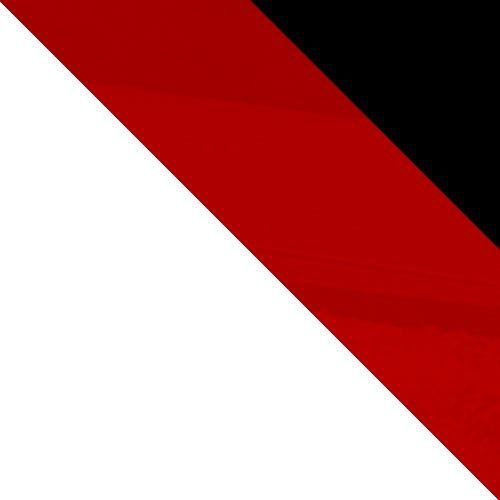 Fehér / Piros + Fekete magasfényű