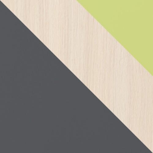 Grafit / Tölgy Cremona + zöld