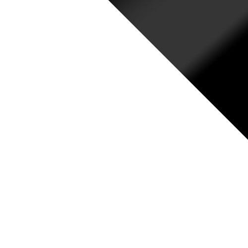 Fehér / Fekete Lacobel Betétlap