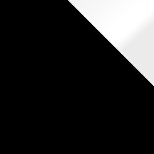 Fekete / Fehér Lacobel Betétlap