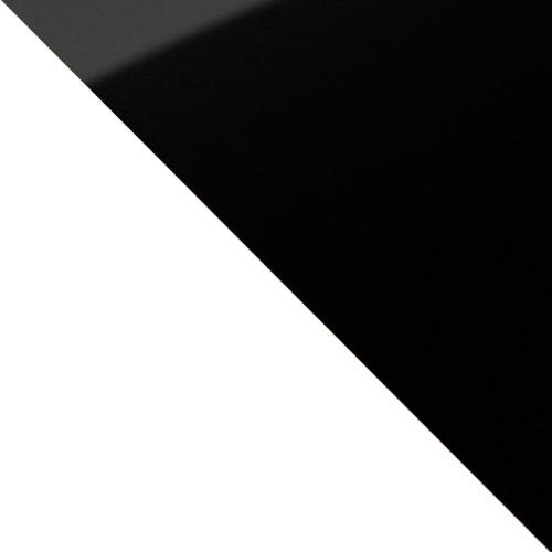 fehér / fekete magasfenyű