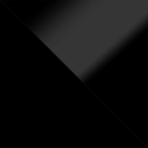 fekete / fekete magasfenyű