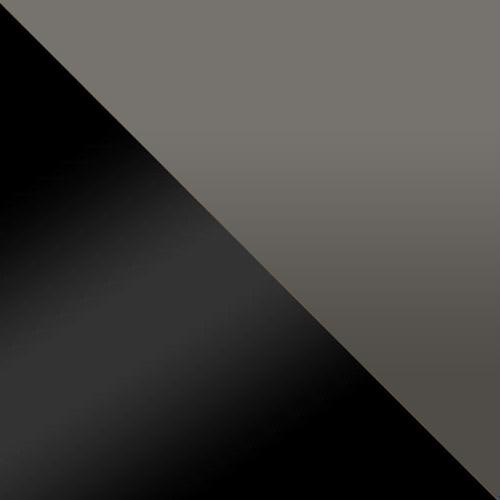 fekete / szürke magasfenyű