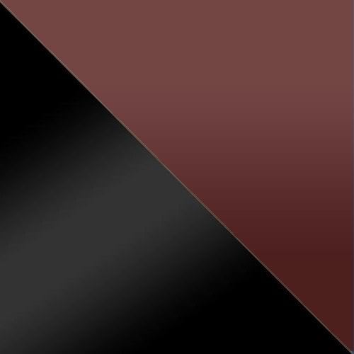 fekete / bordó üveg