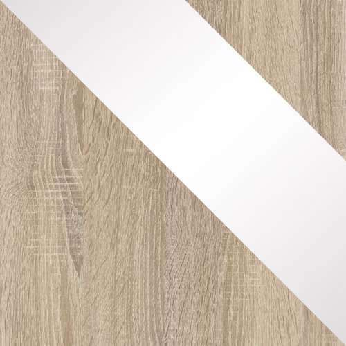 Sonoma / Sonoma + Fehér magasfényű