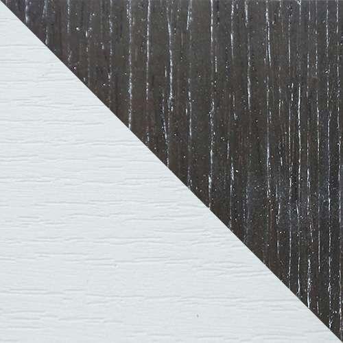 Fehér / Fekete dió magasfényű