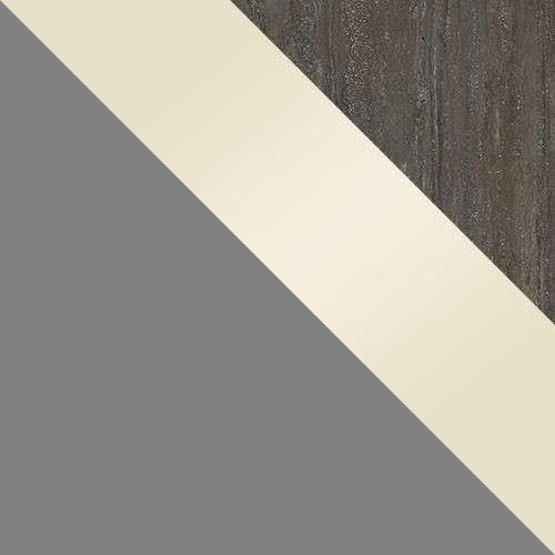 test: szürke / fronton: Cream Gloss / felső: Mésztufa