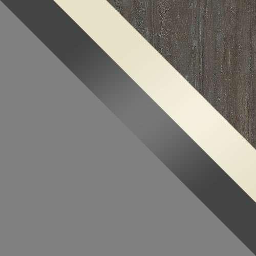 test: szürke / fronton: Szürke Gloss + Gloss krém / felső: Mésztufa
