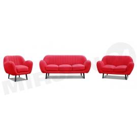 Logo 3+2+1 ülőgarnitúra
