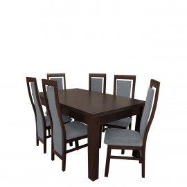 Asztal szék komplett RB012