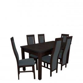 Asztal szék komplett RB014
