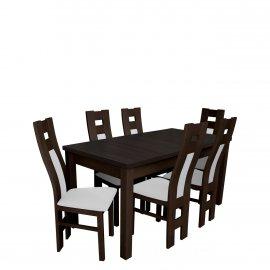 Asztal szék komplett RB018