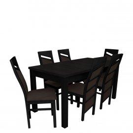 Asztal szék komplett RB019