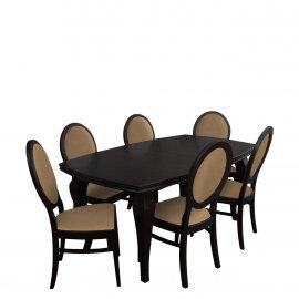 Asztal szék komplett RB028