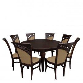 Asztal szék komplett RB031