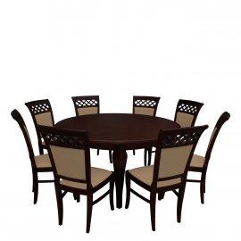 Asztal szék komplett RB032