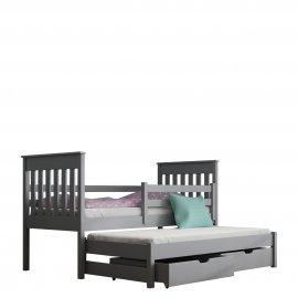 Tymon 90x190 emeletes ágy