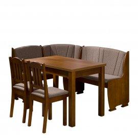 Platon konyhasarok + asztal + két kisszék