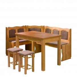 Soter konyhasarok + asztal + két kisszék