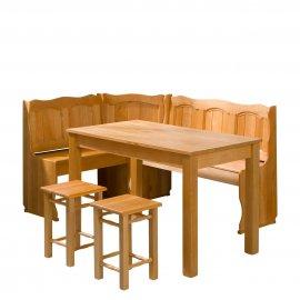 Soter I konyhasarok + asztal + két kisszék