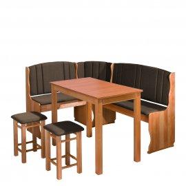 Soter II konyhasarok + asztal + két kisszék