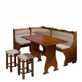 Porfiry konyhasarok + asztal + két kisszék