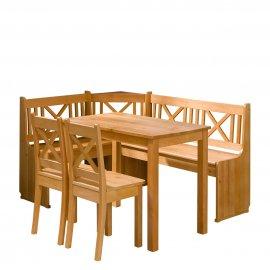 Santiago konyhasarok + asztal + két szék