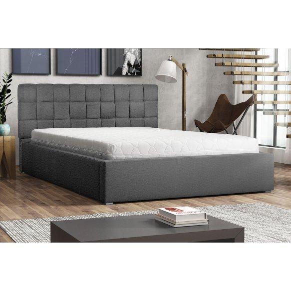 Kárpitos ágy , ágyneműtartóval és Kinec ágyráccsal