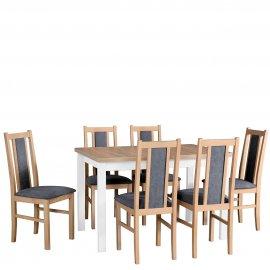 Asztal szék komplett D46