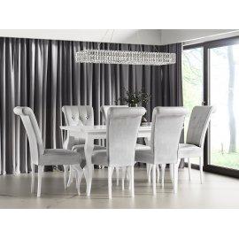 Lara 140 asztal + 6db. S63 szék