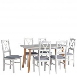 Asztal szék komplett D5