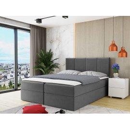 Rebos kontinentális ágy + topper