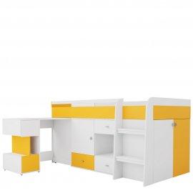 Mobi MB21 emeletes ágy íróasztallal