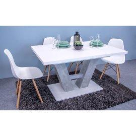 Alvaro asztal + 4 db. Fiore szék