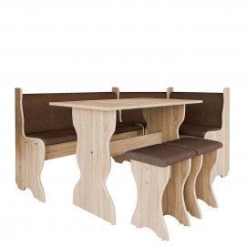 Thomas konyhasarok + asztal + két kisszék