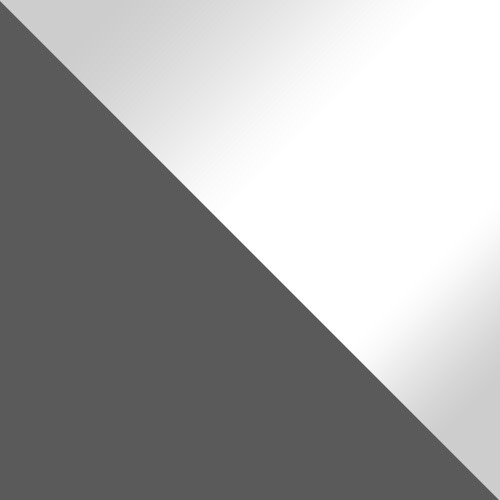 Szürke / Fehér magasfenyű