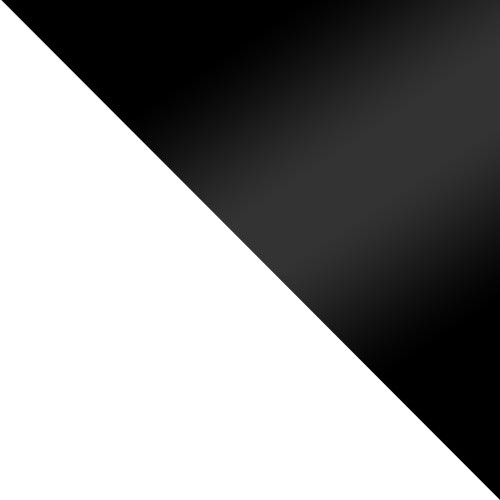 fehér / fekete fényes