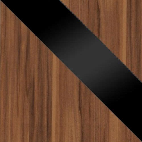 szilva / fekete magasfényű + szilva