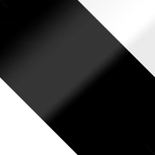 fehér + fekete magasfényű / fekete magasfényű + fehér magasfényű