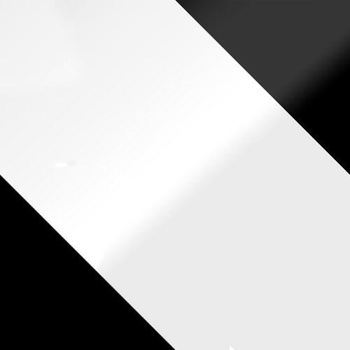 fekete + fehér magasfényű / fehér magasfényű + fekete magasfényű