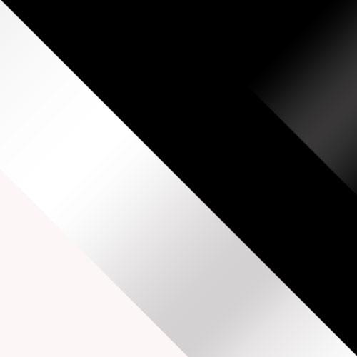 fehér / fehér magasfényű + fekete / fekete magasfényű