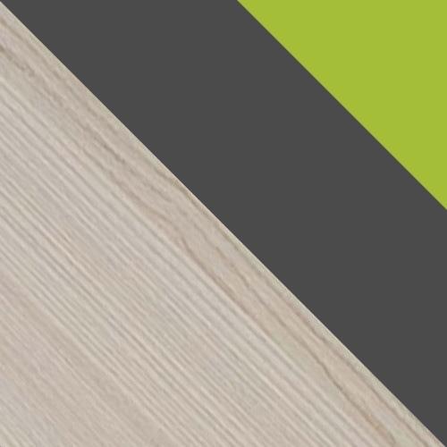 Hamu / Grafit / Zöld