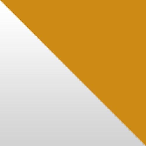 fehér magasfényű / narancs