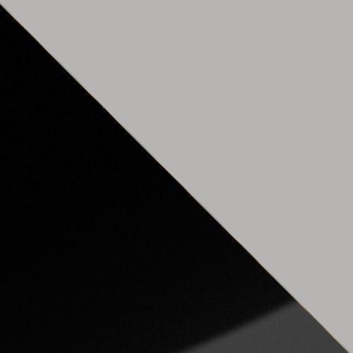 fekete magasfényű / szürke
