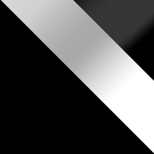 fekete / fehér magasfényű + fekete magasfényű