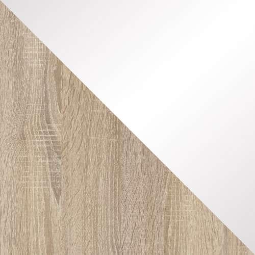 Sonoma / Fehér magasfényű