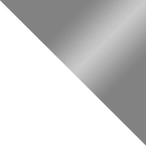 fehér / szürke magasfenyű