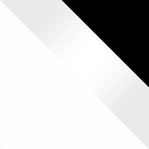 Fehér / Fehér magasfényű + fekete