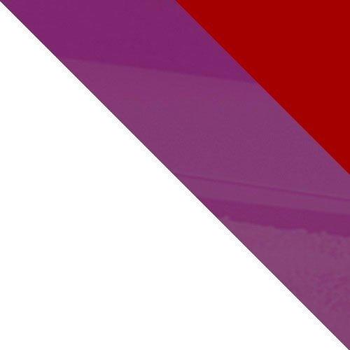 fehér / piros magasfényű + ibolya magasfényű